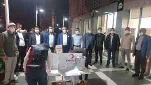 Gelecek Partisi Şanlıurfa İl Yönetiminden Kan Bağışı
