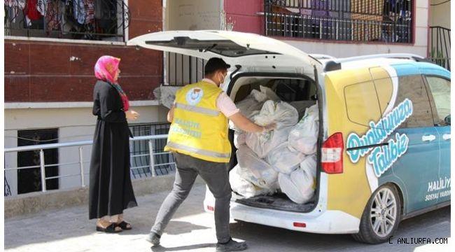 Haliliye'de sosyal belediyecilik devam ediyor