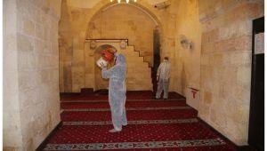 Harran'da camiler ibadete hazırlanıyor