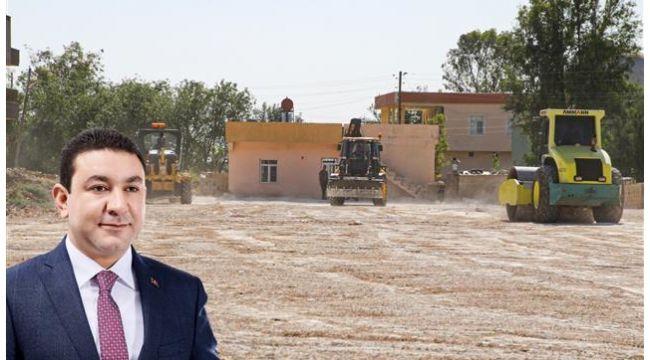 Harran'daki bataklık yaşam alanına dönüştürülüyor