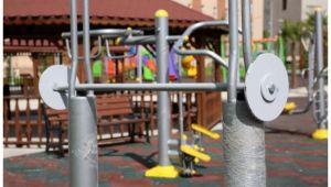 Karaköprü'deki engelsiz park açılışa hazır
