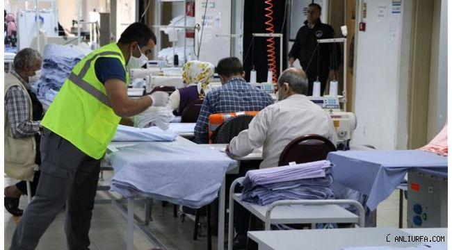 Şanlıurfa Büyükşehir'den vatandaşa 1 milyon ücretsiz maske