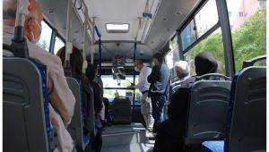Şanlıurfa'da Özel Halk Otobüslerine Sıkı Denetim