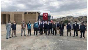 Şanlıurfa'dan Suriye'ye bir tır insani yardım