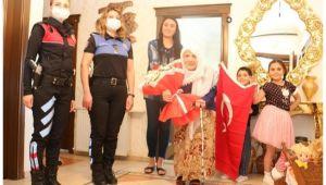 Şanlıurfa Polisinden Şehit Eşine Vefa Ziyareti!