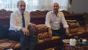 Başkan Yalçınkaya'dan İş adamı Aslantaş'a ziyaret