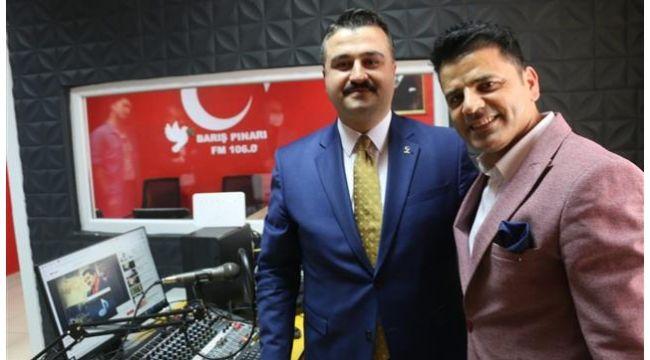 Başkan Yıldız Barış Pınarı FM'in konuğu oldu