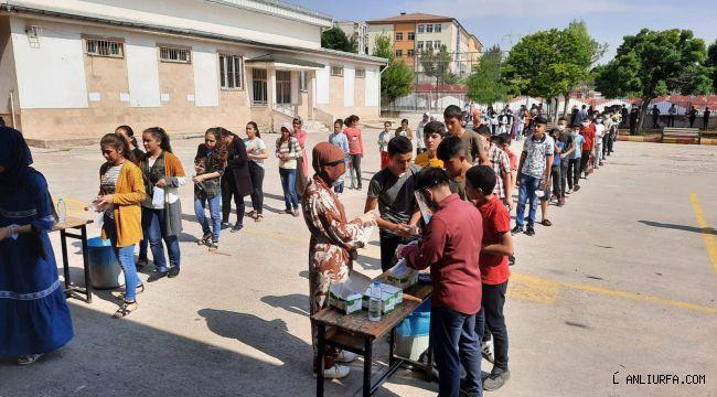 Eyyübiye Belediyesi Sınava Giren Öğrencileri Unutmadı