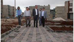 Eyyübiye'ye yeni park: Cennet Anneleri