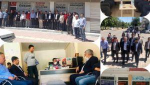 Gelecek Partisi İl Başkanı Teşkilatı ile birlikte Viranşehir'de