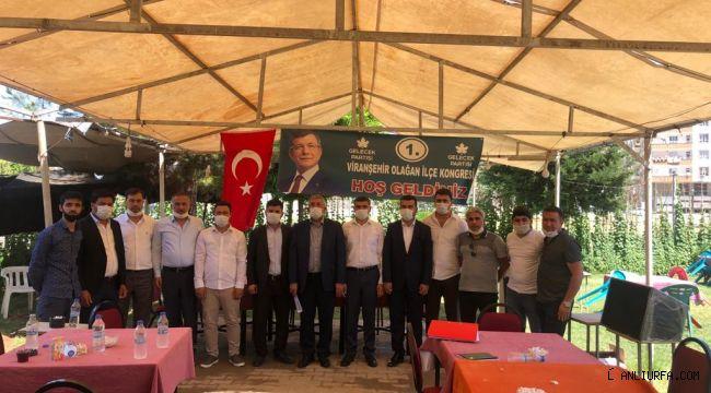 Gelecek Partisi Viranşehir'de Kongre Startı Verdi