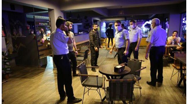 Haliliye'de kontrollü sosyal hayat denetimleri sürüyor