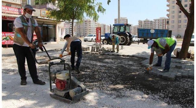 Haliliye Göbeklitepe parkında son hazırlıklar