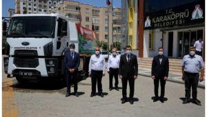 Karaköprü'de araç filosu güçleniyor