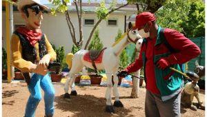 Karaköprü'deki oyuncak müzesi çocuklara hazır