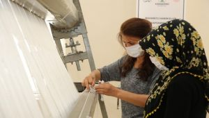 Karaköprü Kırsaldaki halı dokuma merkezleri açılışa hazır