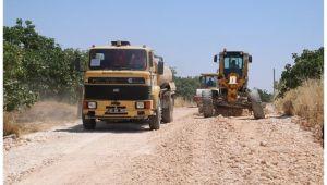 Şanlıurfa Büyükşehir Kırsaldaki yol kalitesini artıyor