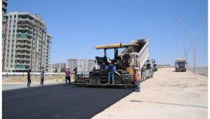 Şanlıurfa genelinde asfalt çalışması sürüyor