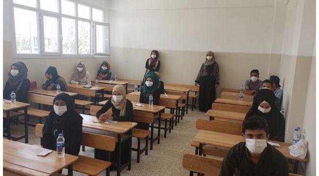 Telabayadlı Öğrenciler Sınava Girdi