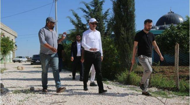 Vatandaşlar Eyyübiye Belediyesi'nin çalışmalarından memnun