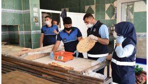 Viranşehir Belediyesinde hijyen denetimi sürüyor