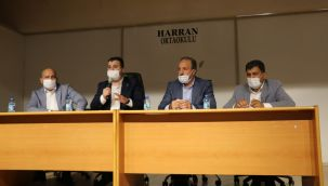 AK Parti Harran'da çiftçileri dinlediler!