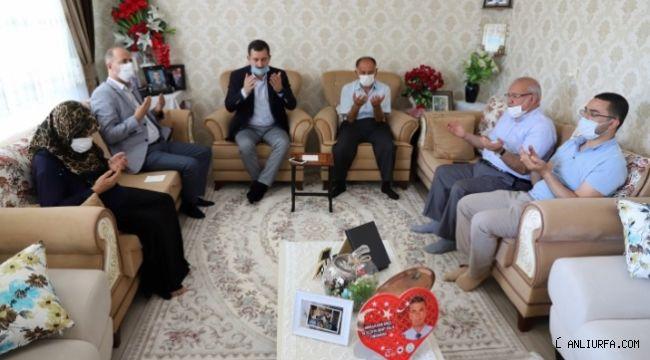 Başkan Baydilli'den Şehit Ailelerine Kurbanlık Hediyesi