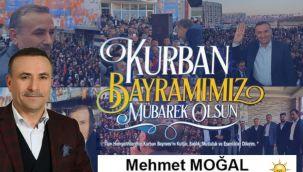 Başkan Moğal'dan Kurban Bayramı Mesajı