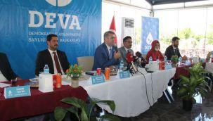 DEVA Partisi Şanlıurfa İl Kurucu Heyeti tanıtıldı