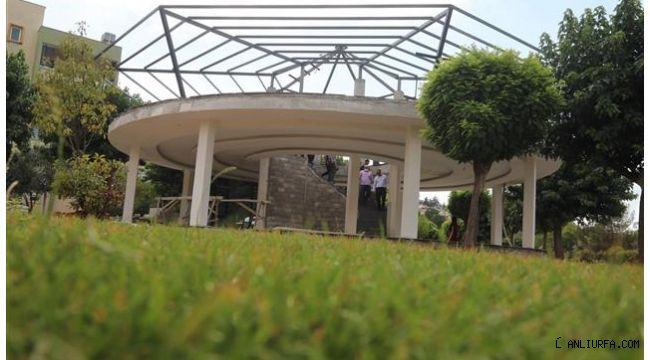 Eyyübiye'de aile otağı açılışa hazırlanıyor
