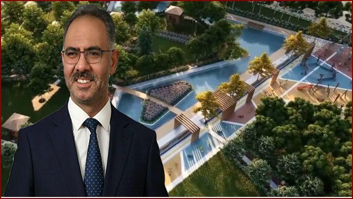 Eyyübiye Millet Bahçesi İhaleye Çıkıyor