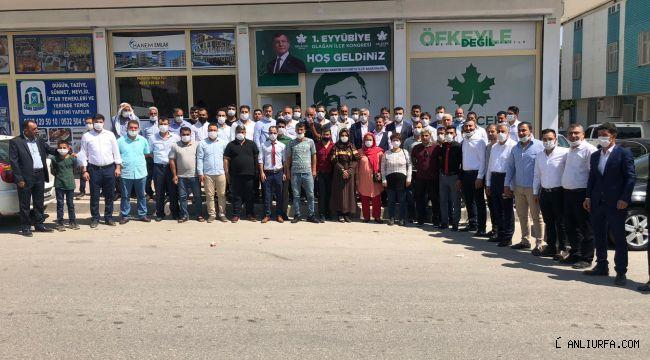Gelecek Partisi Eyyübiye İlçe Kongresi Yapıldı