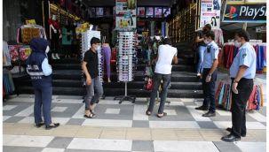 Haliliye'de kaldırım işgallerine denetimler sürüyor