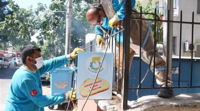Haliliye'nin temizliği için çalışmalar tam hız sürüyor