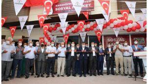 Karaköprü'de Belediye sosyal market açtı