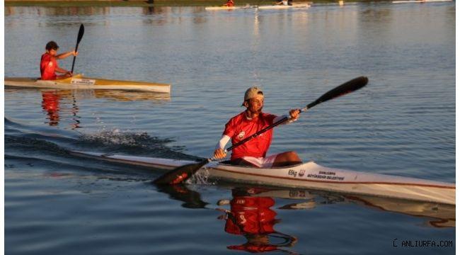 Şanlıurfa'da kano turnuvası