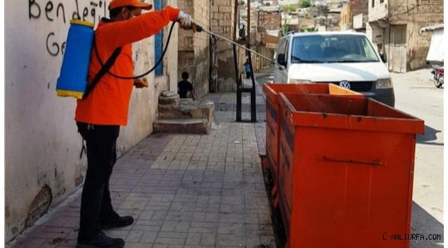 Şanlıurfa'da Vektörle mücadele sürüyor