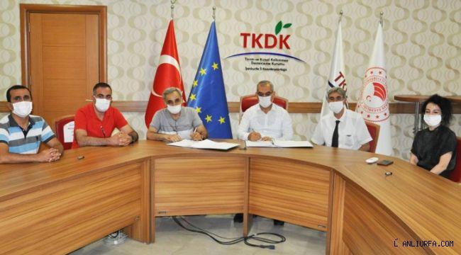 TKDK'dan Halfeti'ye 2,5 milyon TL'lik destek