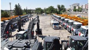 Viranşehir Belediyesinde hizmet seferberliği
