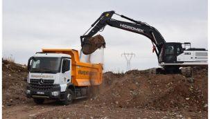 Viranşehir'de yeni iş makineleri hizmet için sahada