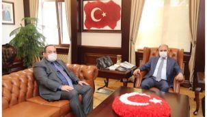 Başkan Ekinci, Emniyet Genel Müdürü ile görüştü