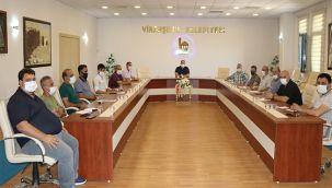 Başkan Ekinci, Kulüp Başkanlarıyla Görüştü