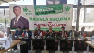 Gelecek Partisi Urfa Basını ile Buluştu