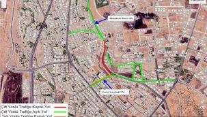 Karaköprü'de, O yollar geçici olarak trafiğe kapatılacak