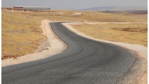 Organize Besi yolu asfaltla buluştu