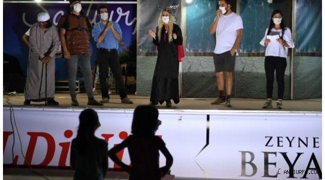 Şanlıurfa'da çocukların sanat keyfi sürüyor