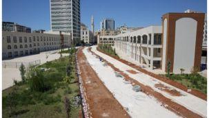 Şanlıurfa'da Yeşil Koridor ve Standart Cadde Yapımı Sürüyor