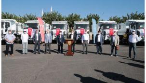 Urfa Büyükşehir araç filosunu güçlendiriyor