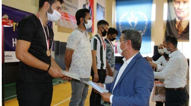 Urfa'da Dart Turnuvası Sona Erdi