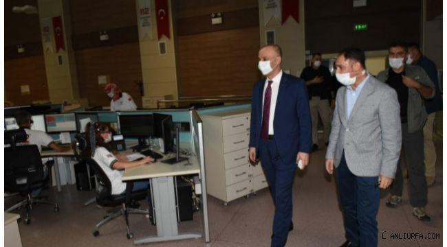 Urfa'da salgın denetim merkezleri açıldı